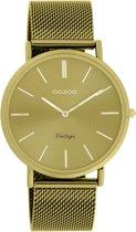 OOZOO Vintage Geel horloge  (40 mm) - Geel
