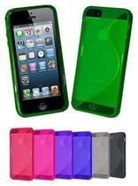 iPhone 5 & 5S  cover case S-line hoesje - BLAUW sline