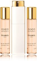 Chanel Coco Mademoiselle Eau de Toilette - 3 delig - Geschenkset