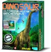 4M Kidzlabs Graaf je Dinosaurus op - Brachiosaurus