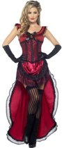Western  Brothel Babe Saloongirl Kostuum | maat L (44-46)