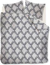 Beddinghouse Peru - Dekbedovertrek - Lits-jumeaux - 240x200/220 cm - Zwart