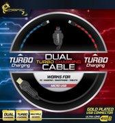 Dragonwar Dual Turbo Charging Cable