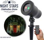Night Stars Laser light Feestverlichting LED projector- Tuinverlichting