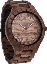 WoodWatch Oaklee Walnut | Houten horloge
