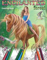Enchanted Forest. Coloring Book