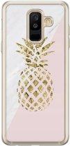 Samsung Galaxy A6 Plus 2018 siliconen hoesje - Ananas