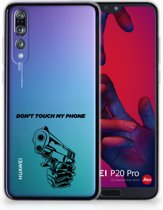 Huawei P20 Pro Uniek TPU Hoesje Gun DTMP