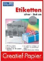 Easy Computing 3169 Etiketten - 230 stuks / Zilver
