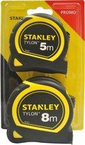 Stanley Promopack Rolbandmaat 8m + meetlint 5m