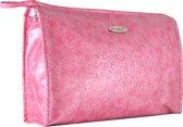 Gérard Brinard toilettas luxe tas roze - voelbare print