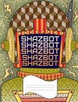 Shazbot: Wide Ruled Line Paper Notebook for Primary School, Journaling, or Personal Use.