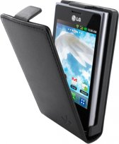 Dolce Vita Flip Case LG Optimus L3 E400 Black