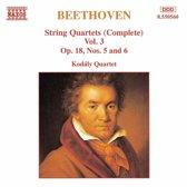 Beethoven: String Quartets Vol 3 / Kodaly Quartet