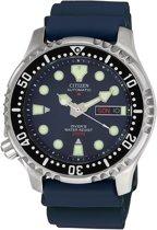 Citizen Promaster Diver NY0040-17LE Polshorloge - 42 mm - Zilverkleurig / Blauw - Automatisch uurwerk