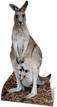 Groot decoratie bord kangoeroe