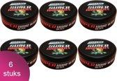 Black & Red Ultra Strong Haar Wax 6 Verpakking - Olive