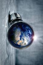 Earth in a Lightbulb Journal