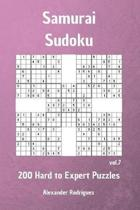 Samurai Sudoku Puzzles - 200 Hard to Expert Vol. 7