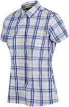 Regatta-Wmns Mindano IV-Outdoorshirt-Vrouwen-MAAT S-Blauw