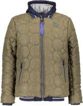 Bellaire Jongens Army jacket - Blauw/Groen - Maat 146/152