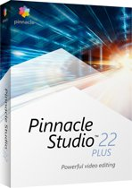 Pinnacle Studio 22 Plus - Nederlands / Engels / Frans - Windows