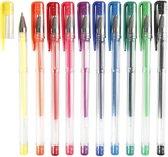 Gelpennen lijndikte: 0 8 mm diverse kleuren 10div