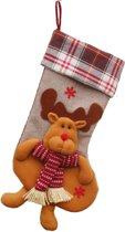 JAP Kerstmis sokken decoratie - Muur openhaard sok - Kerstdecoratie binnen - Rudolf