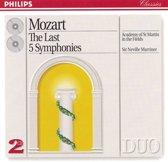 Mozart: The Last 5 Symphonies / Sir Neville Marriner