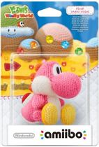 amiibo Yoshi's Wooly World Collection - Yoshi (Roze) - 3DS + Wii U + Switch