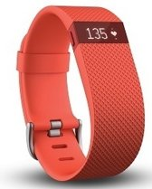 Fitbit Charge HR Activity Tracker - Oranje - Large
