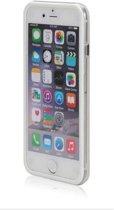 Bumper case siliconen hoesje voor iPhone 8 Plus transparant wit