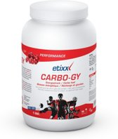 Etixx Carbo Gy - rood fruit - 1000 gram