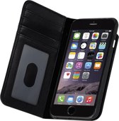 Case-Mate Wallet Folio Case voor Apple iPhone 7 - Echt Leder - Zwart