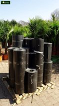 Wortelbegrenzer voor Bamboe per 3 Mtr.x 60cm (1,2mm) - Rhizoombegrenzer - Bamboe wortelbegrenzer