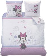 Disney Minnie Mouse Poetic Flowers - Dekbedovertrek - Lits Jumeaux - 240 x 220 cm - Multi