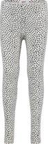 NOP Meisjes Legging met all over print Altamont - Marshmallow - Maat 128