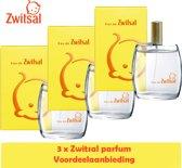 Zwitsal Parfum Eau de Zwitsal 3 stuks Voordeelverpakking