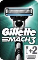 Gillette Mach3 - Scheersysteem + 2 Scheermesjes