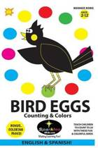 Bird Eggs - Counting & Colors! (Spanish)