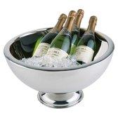 RVS champagnekoeler - ø44 x h24 cm