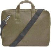 MYOMY My Paper Bag Crossbodytas - 13 inch laptoptas - Groen
