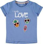 Name it Meisjes T-shirt - Blue Bonnet - Maat 98