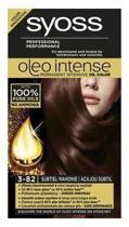 Syoss haarverf Oleo Intense3-82 Subtiel Mahonie