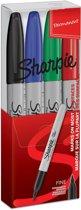 Sharpie - Viltstift Fine - Set van 4 stuks.