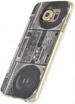 Xccess TPU Case Samsung Galaxy S6 Retro Radio