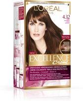 L'Oréal Paris Excellence  4.32 - Zonnig Middenbruin - Haarverf