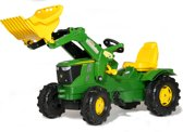 Rolly Toys FarmTrac John Deere - Traptractor met Frontlader