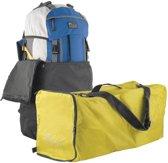 Flightbag voor backpack - 55-80 liter - geel