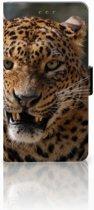 Huawei Honor 5X Uniek Telefoonhoesje, met Luipaard Design